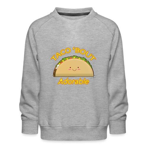 taco - Felpa premium da bambini