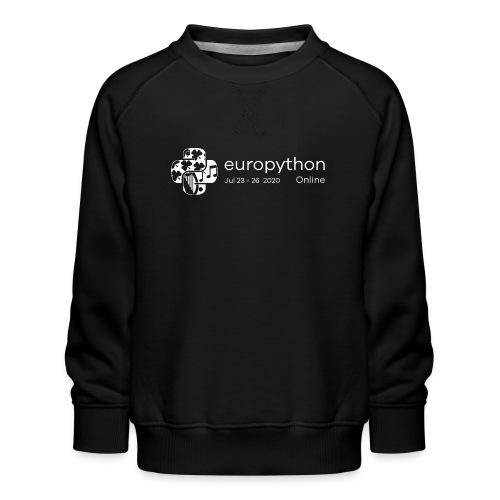 EuroPython 2020 - White Logo - Kids' Premium Sweatshirt