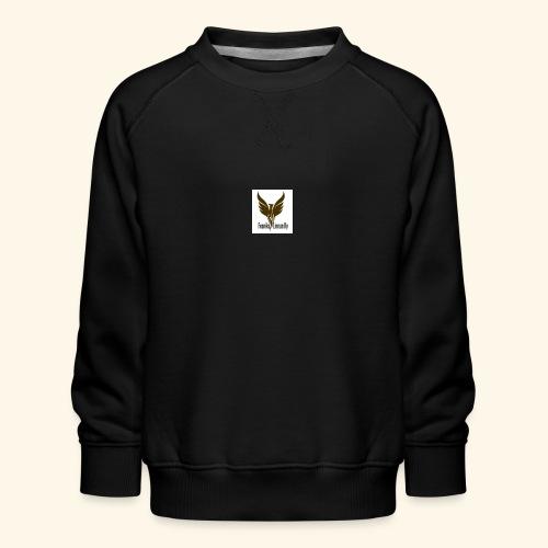 feeniks logo - Lasten premium-collegepaita