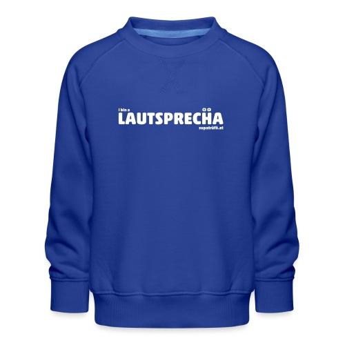 supatrüfö LAUDSPRECHA - Kinder Premium Pullover
