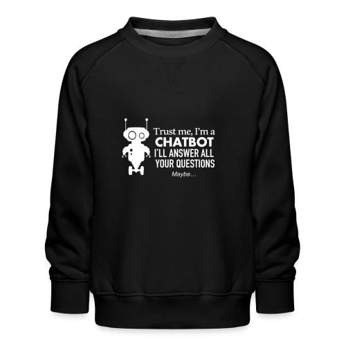 TrustBotW - Sweat ras-du-cou Premium Enfant