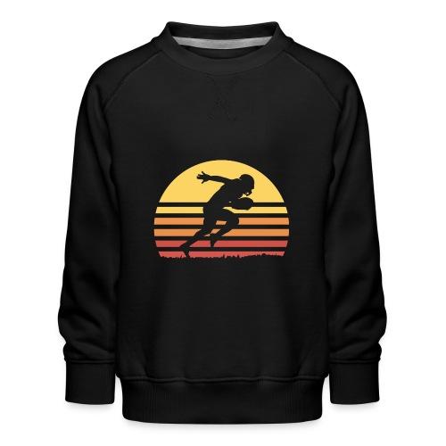 Football Sunset - Kinder Premium Pullover