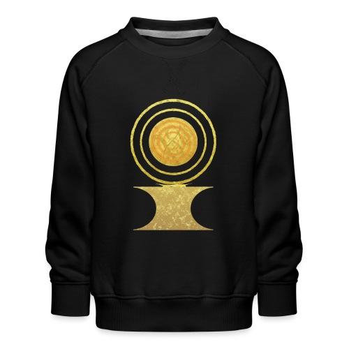 Native America Indianer Symbol Hopi ssl Sonne - Kinder Premium Pullover