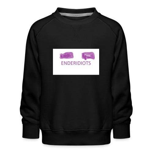 enderproductions enderidiots design - Kids' Premium Sweatshirt