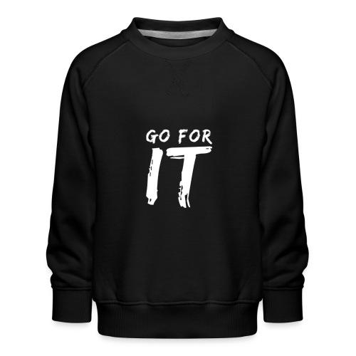 GO FOR IT - Kinder Premium Pullover
