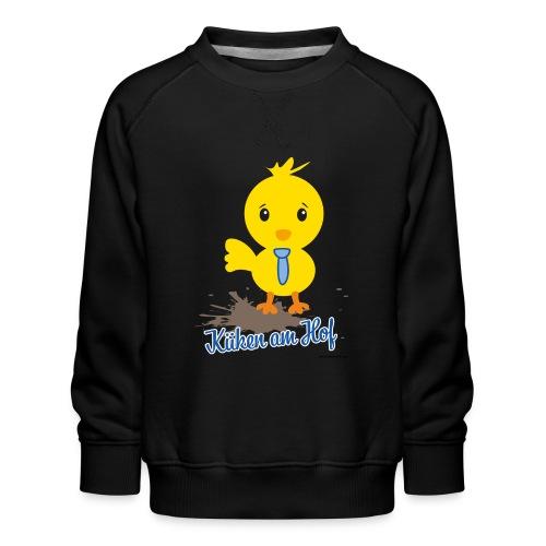 Küken am Hof, Design für Jungen - Kinder Premium Pullover