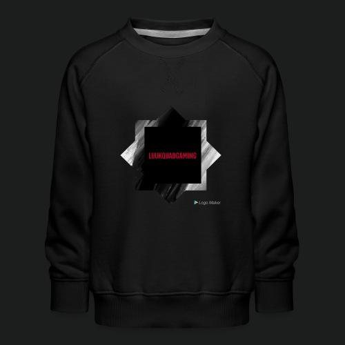 New logo t shirt - Kinderen premium sweater