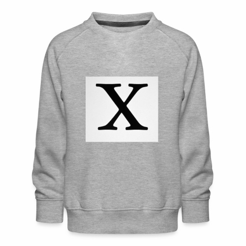 THE X - Kids' Premium Sweatshirt