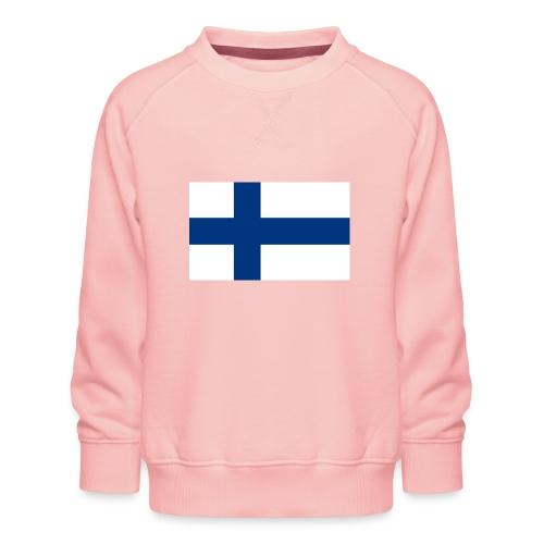 800pxflag of finlandsvg - Lasten premium-collegepaita