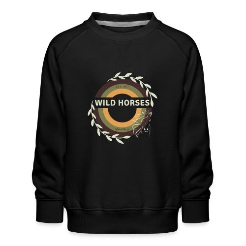 Wild Horses - Kinderen premium sweater