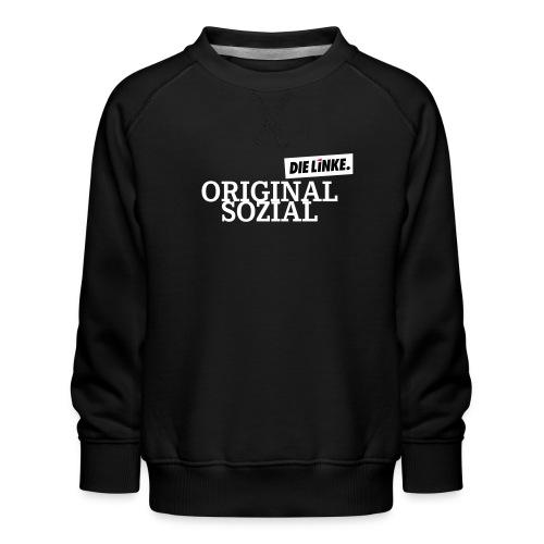 Schriftzug_original - Kinder Premium Pullover