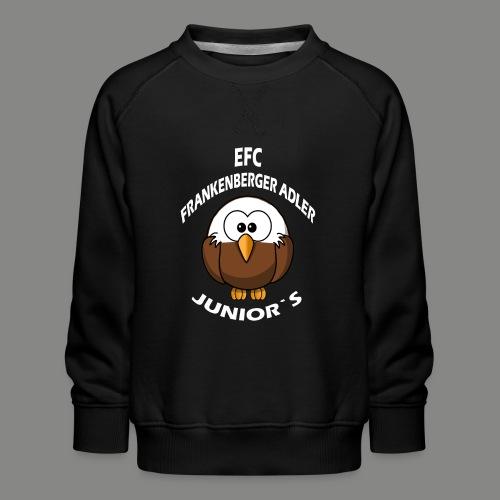 Junior`s Weiß - Kinder Premium Pullover