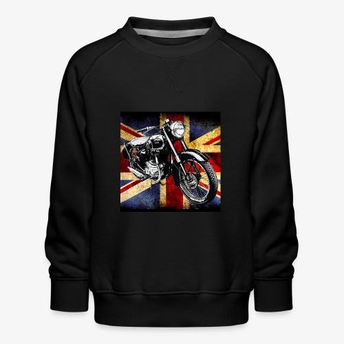 BSA motor cycle vintage by patjila 2020 4 - Kids' Premium Sweatshirt