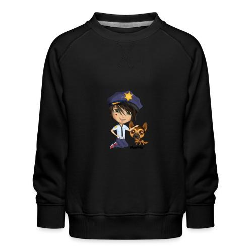 Jack und Hund - von Momio Designer Cat9999 - Kinder Premium Pullover