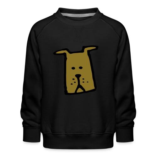 süßer Hund - Design - Geschenk für Kinder - Comic - Kinder Premium Pullover
