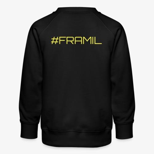 #framil - Lasten premium-collegepaita