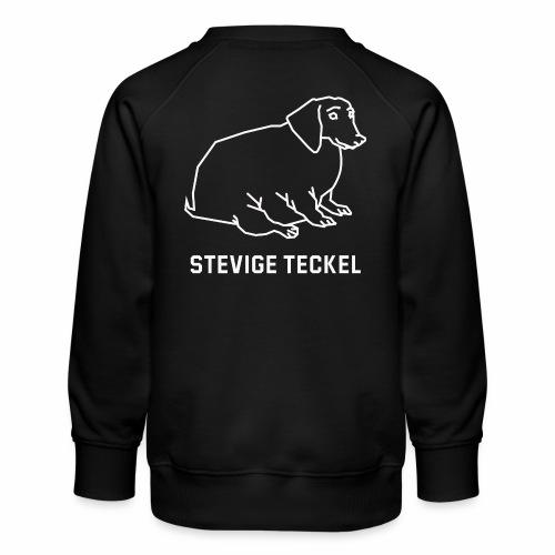 Stevige Teckel - Kinderen premium sweater
