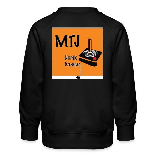 Mtj Logo - Premium-genser for barn
