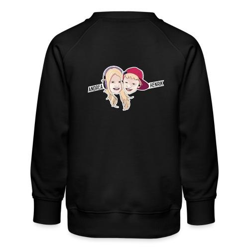 Enkel Logo - Premium-genser for barn