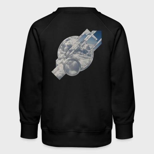 Abstract Cloud - Kinder Premium Pullover