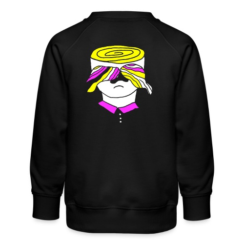 Psy-stache - Kinderen premium sweater
