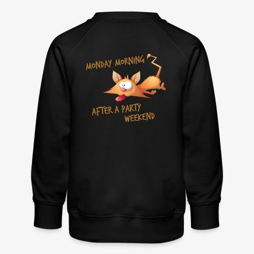 Lundi Matin - Monday Morning - Kids' Premium Sweatshirt