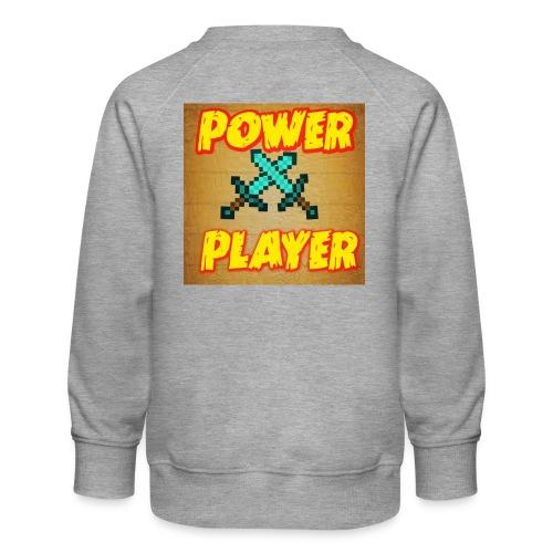 NUOVA LINEA POWER PLAYER - Felpa premium da bambini