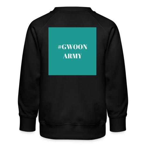 #gwoonarmy - Kinderen premium sweater
