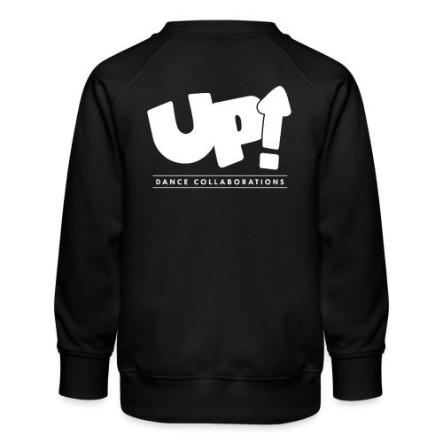 Up Dance White Logo - Kids' Premium Sweatshirt