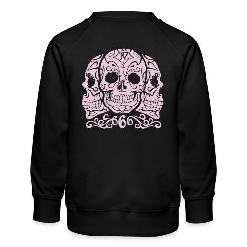 Skull Dia de los muertos - Sweat ras-du-cou Premium Enfant