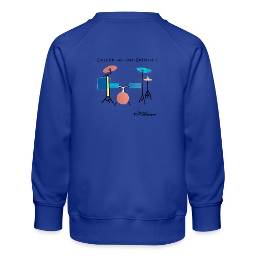 Azia Drum - Kids' Premium Sweatshirt