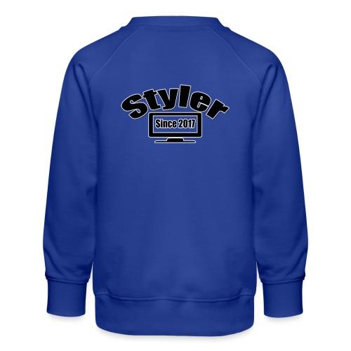 Styler Designer Kleding - Kinderen premium sweater