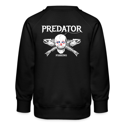 Predator fishing Norwegen - Kinder Premium Pullover