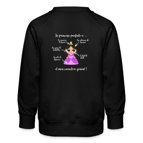 Princesse parfaite - Sweat ras-du-cou Premium Enfant