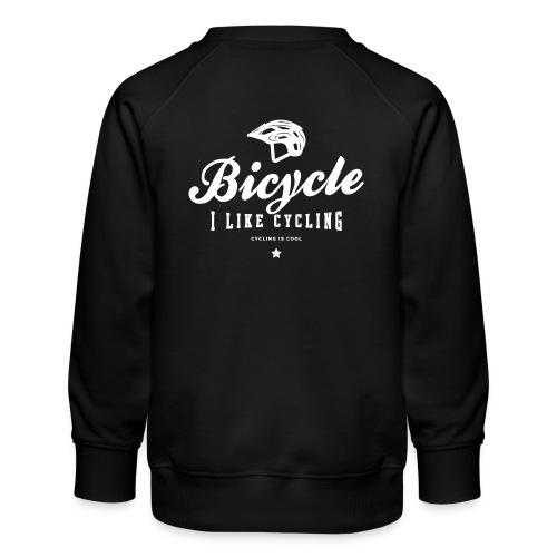 bicycle - Bluza dziecięca Premium