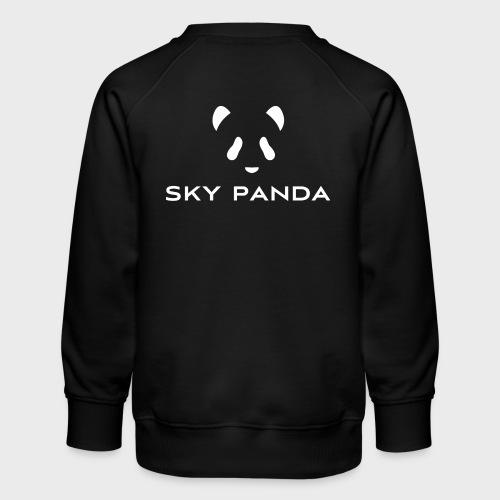 Sky Panda White - Kinder Premium Pullover