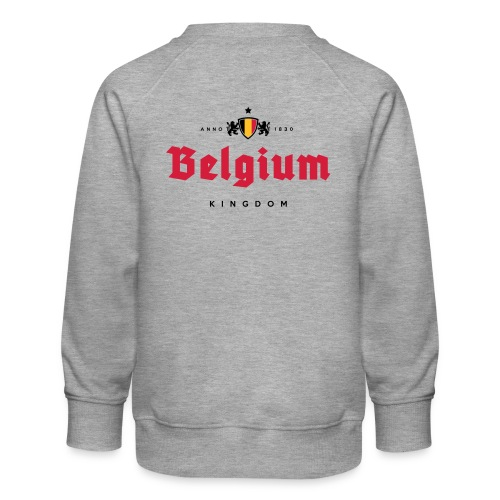 Bierre Belgique - Belgium - Belgie - Sweat ras-du-cou Premium Enfant