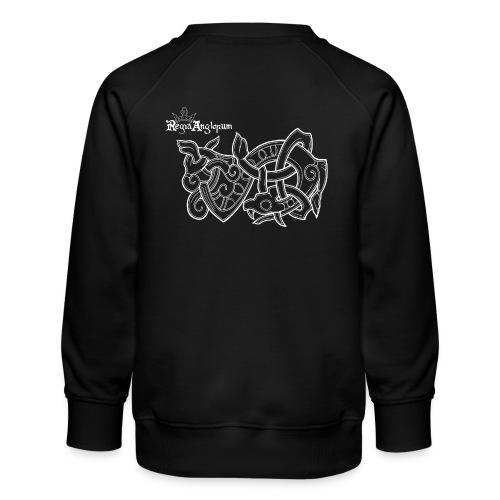 Regia TShirt Worm Clearbackground white - Kids' Premium Sweatshirt