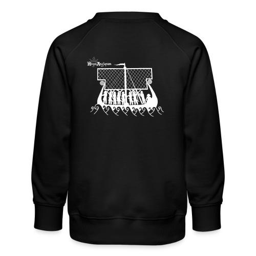 Regia TShirt Boat Clearbackground 2 White - Kids' Premium Sweatshirt