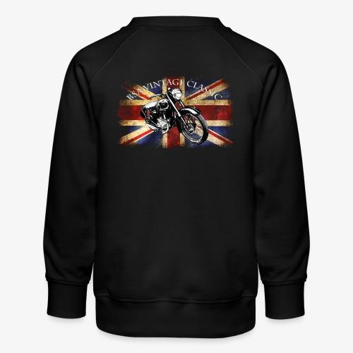 Vintage famous Brittish BSA motorcycle icon - Kids' Premium Sweatshirt