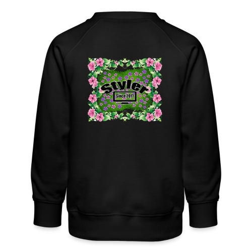 Styler Bloemen Design - Kinderen premium sweater