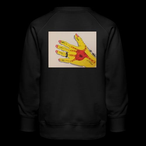 9D8D600F D04D 4BA7 B0EE 60442C72919B - Børne premium sweatshirt