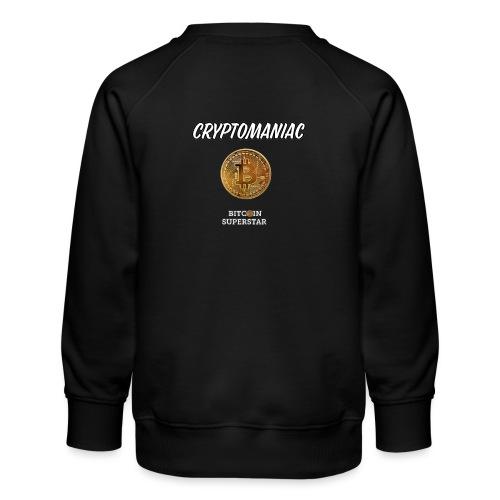 Cryptomaniac - Felpa premium da bambini