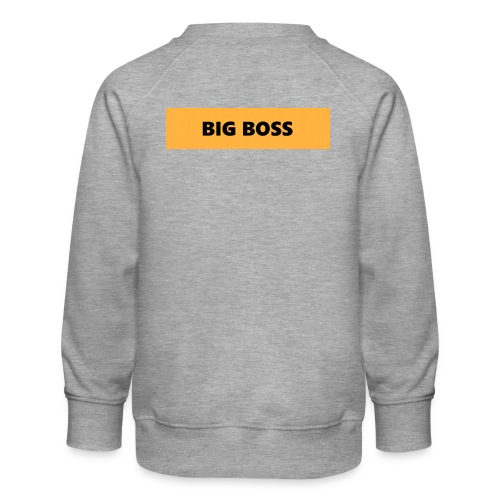 BIG BOSS - Lasten premium-collegepaita