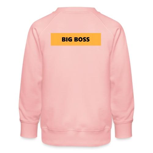 BIG BOSS - Lasten premium-collegepaita