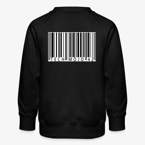 TM graphic Barcode Answer to the universe - Kids' Premium Sweatshirt