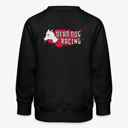 Dead dog racing logo - Kids' Premium Sweatshirt