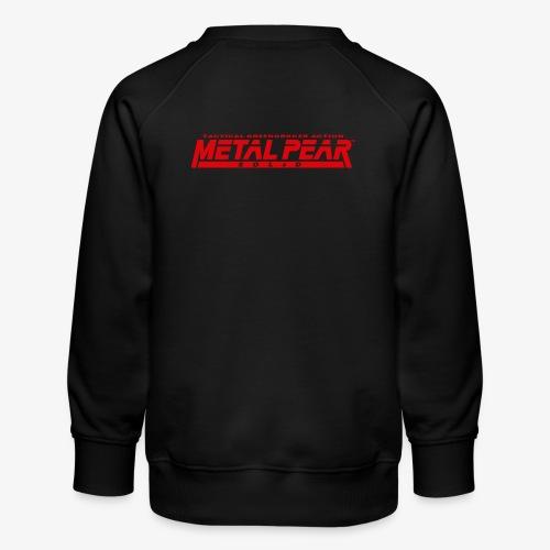 Metal Pear Solid: Tactical Greengrocer Action - Kids' Premium Sweatshirt
