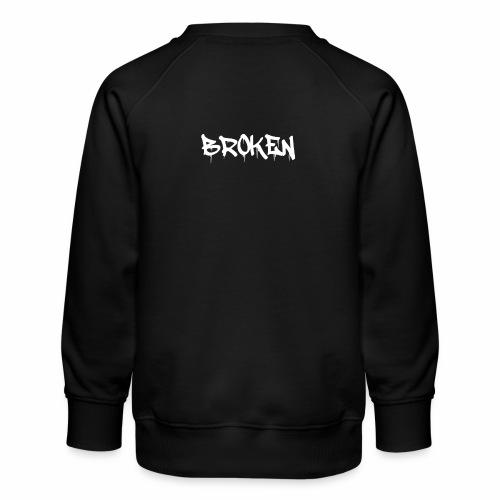 Broken Design - Kids' Premium Sweatshirt