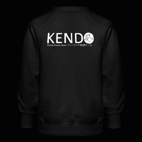 Finnish Kendo Team Text - Lasten premium-collegepaita